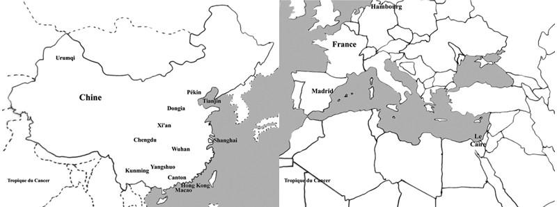 Europe-Chine
