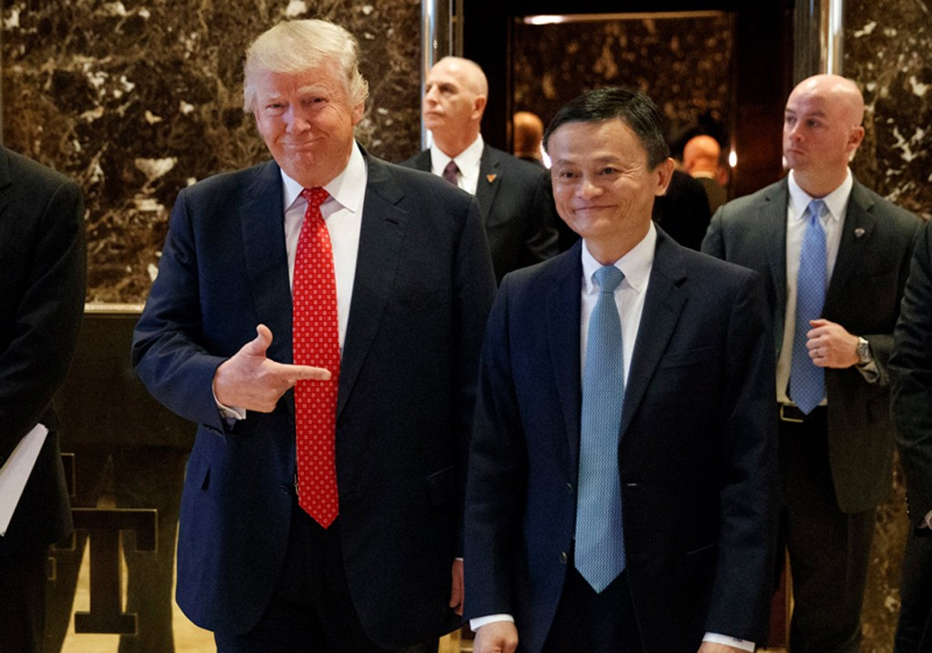 Trump-jack-ma-lemaire-hebdo-vin-chine