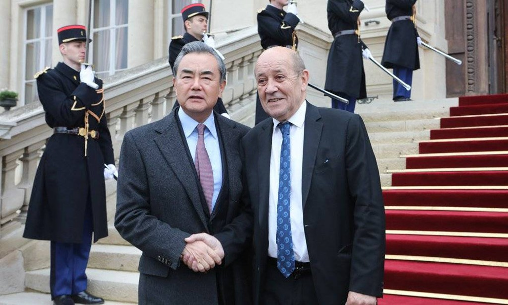 Wang-Yi-Jean-Yves-Le-Drian-lemaire-hebdo-vin-chine