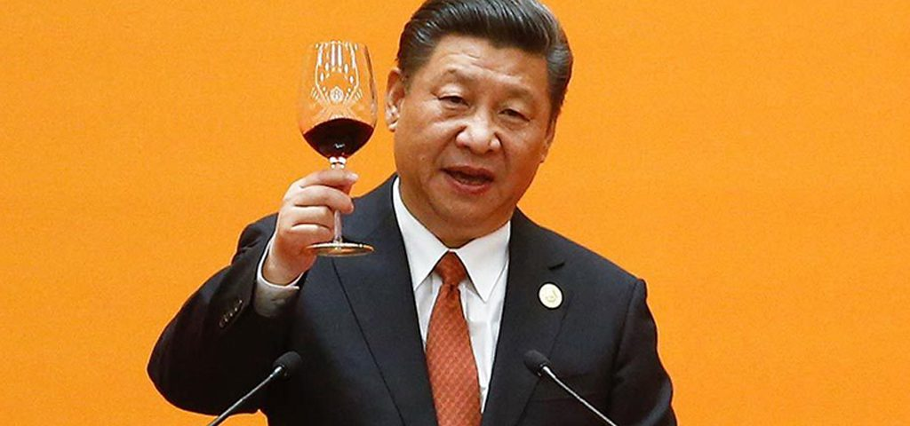 xi-jinping-chine-verre-de-vin-lemaire-hebdo-chine
