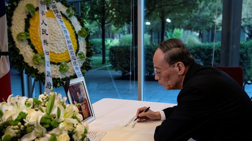 Chirac-wang-qishan-mort-lemaire-hebdo-vin-chine