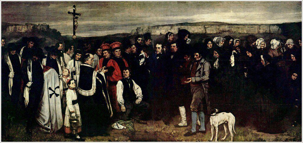 Courbet-enterrement-ornans-lemaire-hebdo-vin-chine