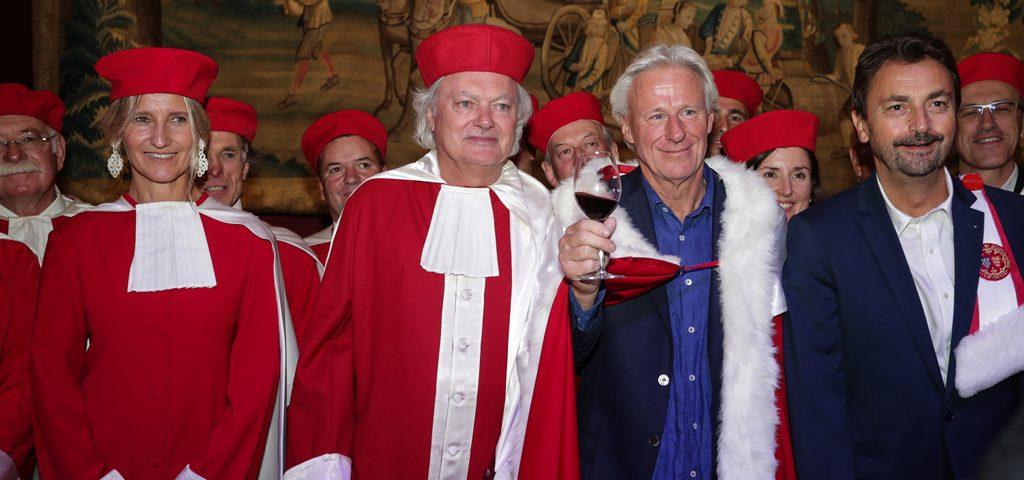 La Jurade de Saint-Emilion accueille Bjorn Borg, le tennisman de légende
