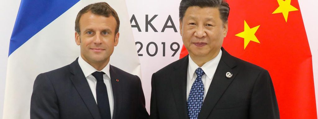 Macron-Emmanuel-Xi-Jinping-Chine-lemaire-hebdo-vin