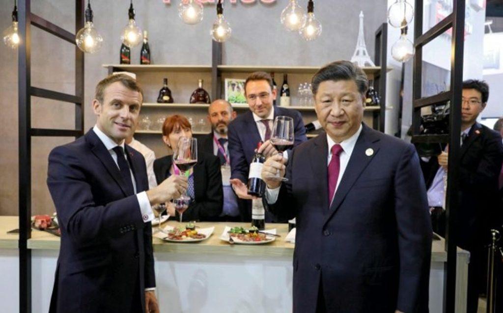 Macron-Emmanuel-Xi-Jinping-vin-lemaire-hebdo-chine