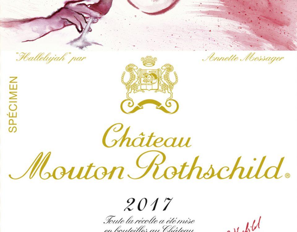 Etiquette-Chateau-Mouton-Rothschild-2017-lemaire-hebdo-vin-chine