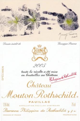 etiquette-mouton-2005-giuseppe-penone-lemaire-hebdo-vin-chine