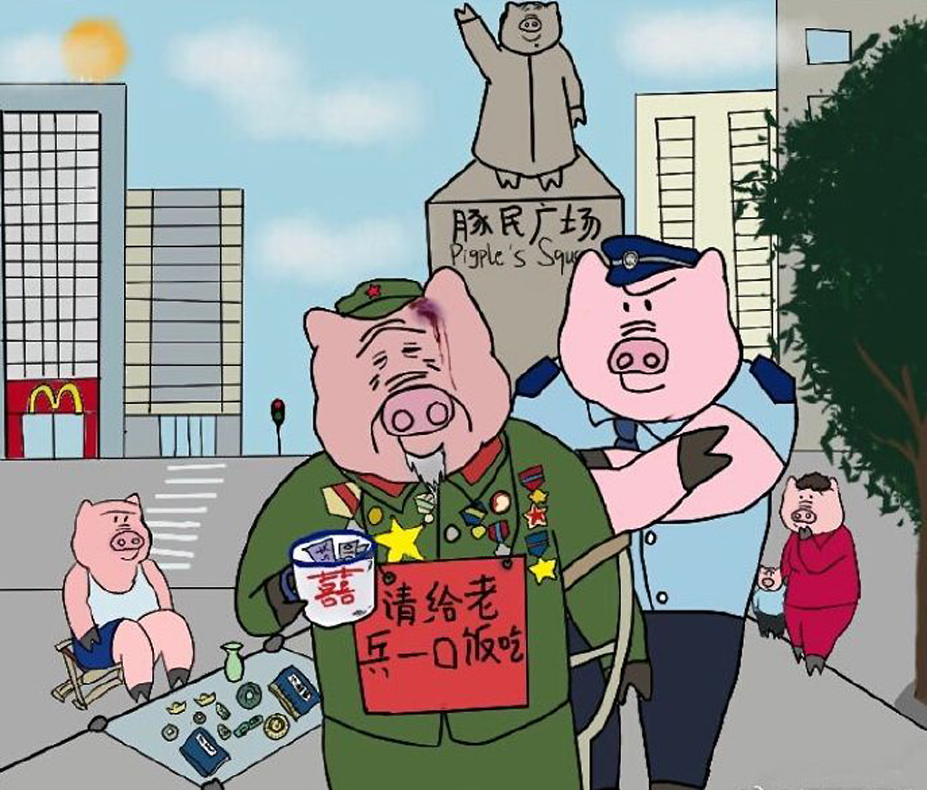 caricature-zhang-cochon-veteran-lemaire-hebdo-vin-chine