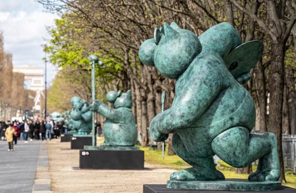 chat-geluck-champs-elysees-exposition-lemaire-hebdo-vin-chine-2